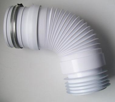 Mcalpine Flexible Back To Wall Toilet Pan Connector